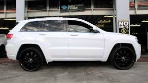 jeep grand cherokee 22 inch lexani lss10 matte black youtube