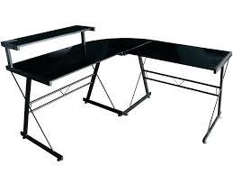 bureau en verre tremp noir bureau noir verre meubles bureau tables de bureau bureau dangle