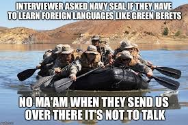 Navy Seal Meme - when negotiations are no longer effective imgflip