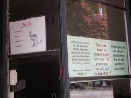 jeremiah u0027s vanishing new york hair box barber shop