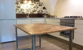 table cuisine en bois table bois pliable gallery of bureau with table bois pliable