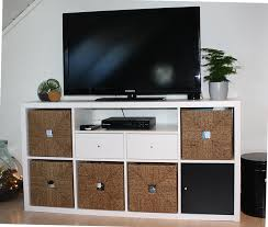Ikea Kallax Bench by Ikea Kallax Shelf With Hack For Tv Bench For The Home