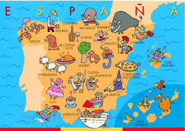 maps of spain detailed big size spain map and flag travel around the