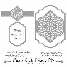 Format Of Wedding Invitation Card Wedding Invitation Eastern Pattern Card Template Victorian Mandala