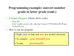 the switch statement an n way selection statement ppt download