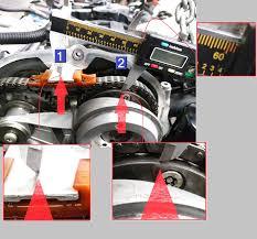 audi volkswagen 2 0l chain drive p0016 cam crank correlation check