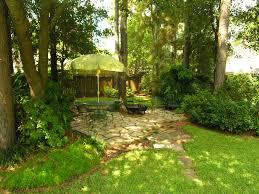 Patio Backyard Ideas by Flagstone Under Trees View Of Flagstone Patio Under Shade Of