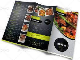 menu card templates watering restaurant menu designs entheos