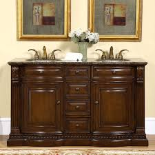 60 inch double sink vanity bathroom cabinet u2014 the homy design