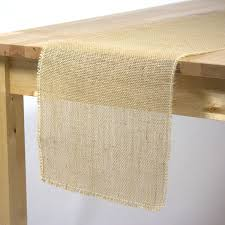 burlap table runners wholesale burlap table runners 12 1 2 x 96 inches natural burlap table runner
