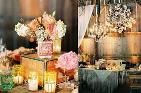 rustic vintage wedding vintage wedding mix match jars wedding flower centerpieces
