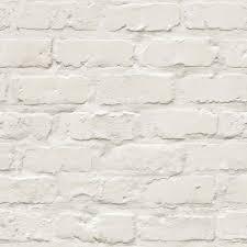 grandeco ideco painted brick wall pattern faux effect motif