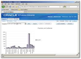 previewing the oracle bi publisher online layout builder