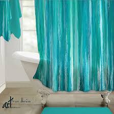 Aqua Blue Shower Curtains Curtains Design Your Own Shower Curtain Fresh Shower