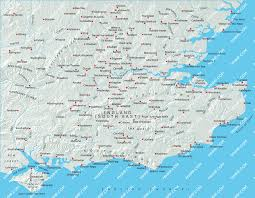 map of east uk south east map illustrator mountain high maps plus