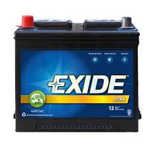exide xtra 8v golf cart electric vehicle battery gc8v 110 rural king