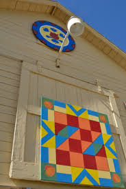 Barn Quilt Art Cross Orchards Historical Site A Bountiful Heritage