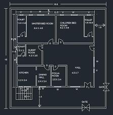 building plan one storey residential building plan gharexpert