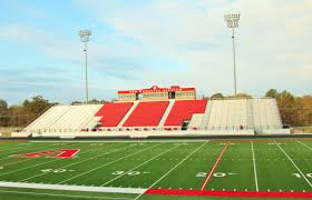 Van Texas Map Van Memorial Stadium U0026 Sports Complex Van Tx