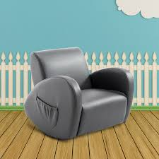 Childrens Faux Leather Armchair Kids Teens At Furniture Men