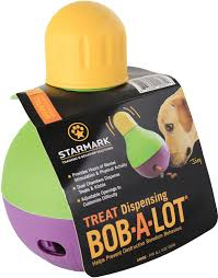 starmark treat dispensing bob a lot dog toy large chewy com