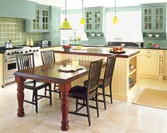 kitchen island and table wood floor wood island with table extensions kitchens and tables