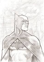 art of ray lederer batman sketches