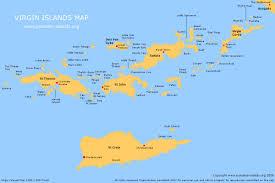 Us Virgin Island Flag British Virgin Islands Map