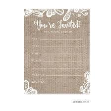 rustic bridal shower invitations top 10 best bridal shower invitations