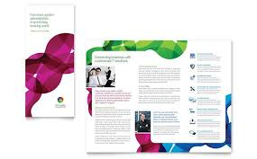 microsoft word tri fold brochure ms word brochure template free