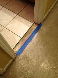 Tile To Laminate Floor Transition Carpet To Tile Transition For Utopia Stone And Tile Thanks For