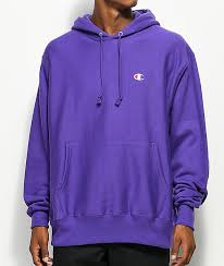 champion reverse weave purple hoodie zumiez