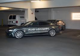 audi a7 parking audi shows self parking a7 sporback with piloted parking system