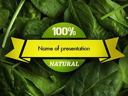 http www pptstar com powerpoint template spinach spinach
