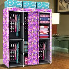 Closet Storage Cabinets Wardrobes Rolling Closet Storage Rolling Closet Rack Target Grey