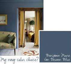 Dark Blue Paint Living Room by Top Paint Picks For Navy Blue Walls Jenna Burger
