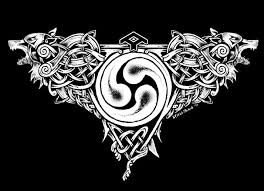 image result for celtic wolf pyrography ideas