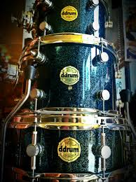 black friday electronic drum set ddrum ddrum paladin maple 5 piece drum set in blue spark at