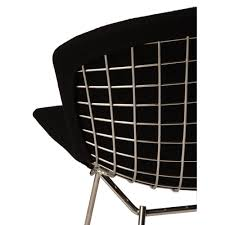 harry bertoia wire chair replica fully upholstered premium