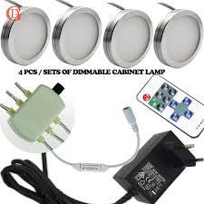 sharper image wireless remote led puck lights set of 4 sharper image wireless remote led puck lights best photos
