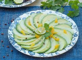 cuisiner des chayottes recette de salade à la chrisophine