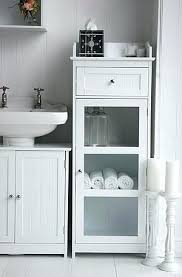 Freestanding White Bathroom Furniture Bathroom Cupboards Freestanding Standing Bathroom Cabinets