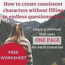 character development sheet