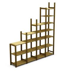 3d Bookshelf Ivar Bookshelf Step Iges 3d Cad Model Grabcad