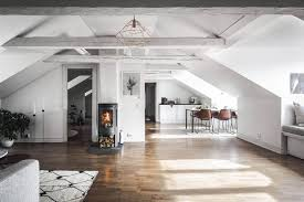 Attic Apartment by Stylescale Designed An Scandinavian Attic Apartment With Old And