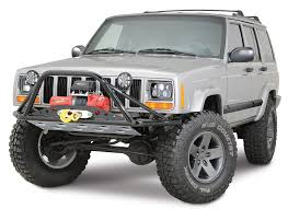 jeep cherokee stinger bumper rusty u0027s offroad pre runner winch bumper for 84 01 jeep cherokee