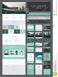 one page website design template stock illustration image 41025742