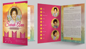Funeral Program Designs Amazing Funeral Program Booklet Templates Seraphimchris Graphic