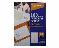 Label Printing Template 21 Per Sheet by Labels Postage Packaging Supplies Office Supplies Ryman