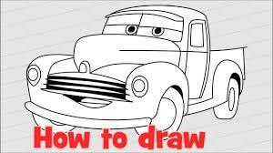draw cars 3 step step smokey